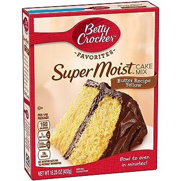 amazon com betty crocker butter recipe yellow cake mix 15 25