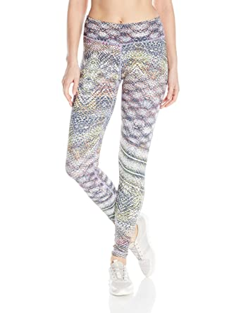 03800efcfcbf84 Vimmia Women's Reversible Printed Core Legging at Amazon Women's Clothing  store: