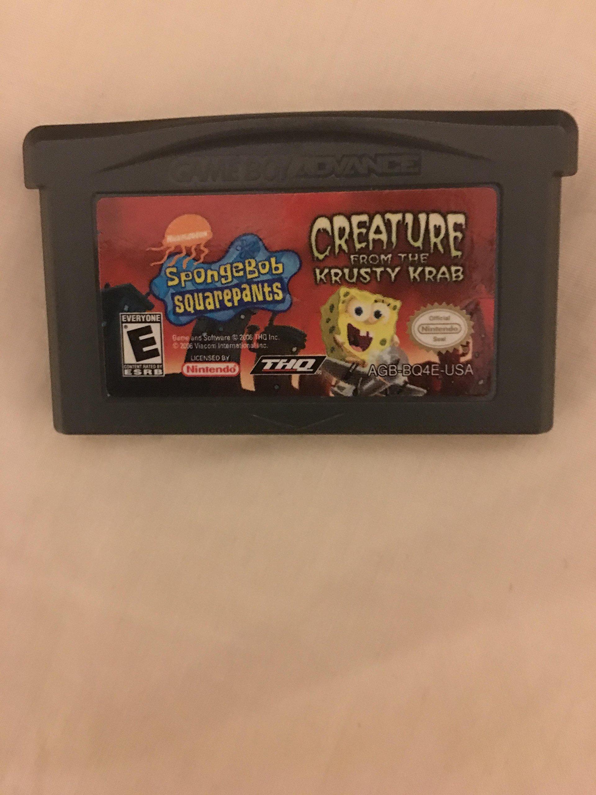 Amazon Com Spongebob Squarepants Creature From The Krusty Krab