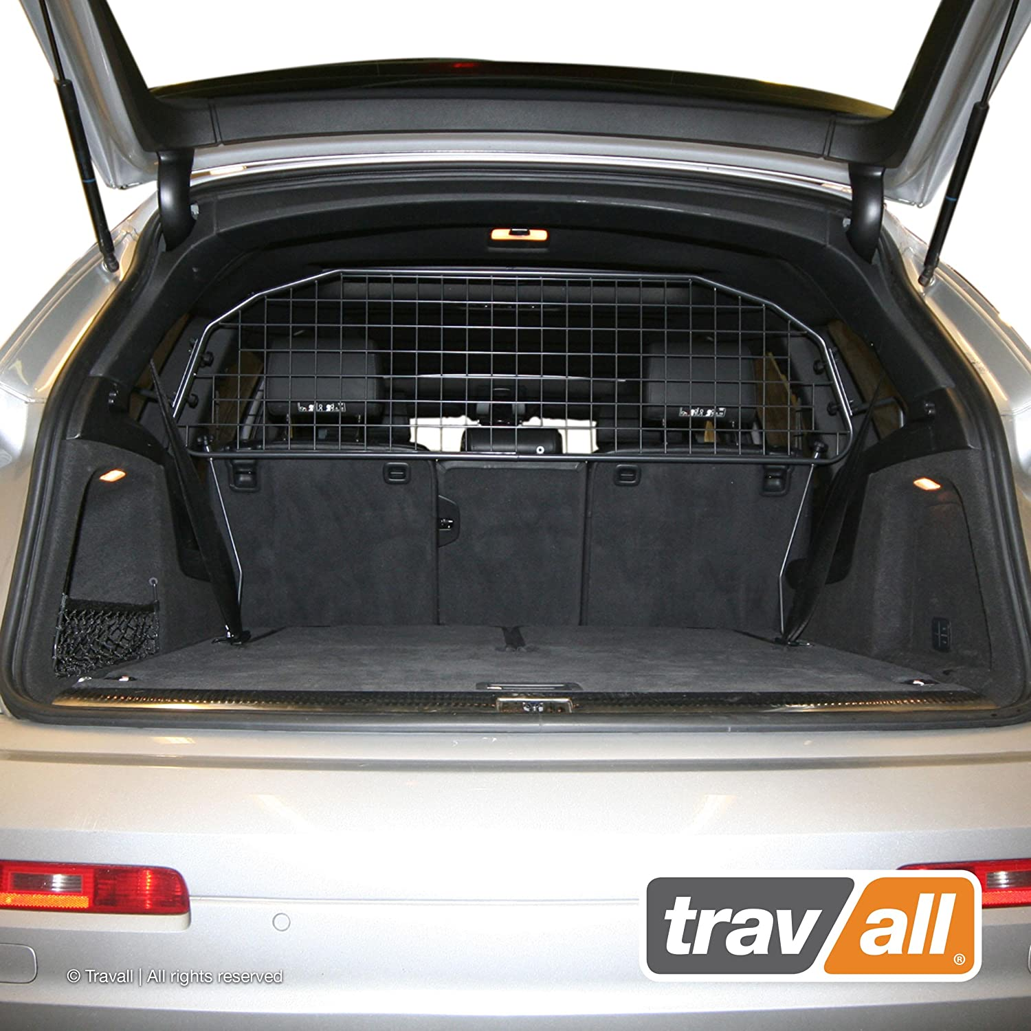 Travall Guard Compatible with Audi Q7 2005-2015 TDG1354 – Rattle-Free Steel Pet Barrier