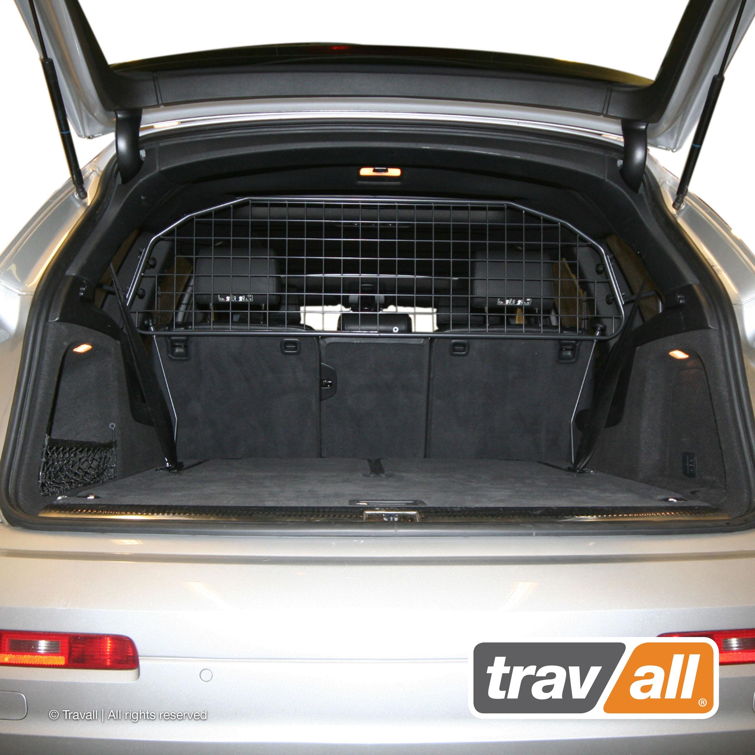 Travall Guard Compatible with Audi Q7 (2005-2015) TDG1354 - Rattle-Free Steel Pet Barrier by Travall