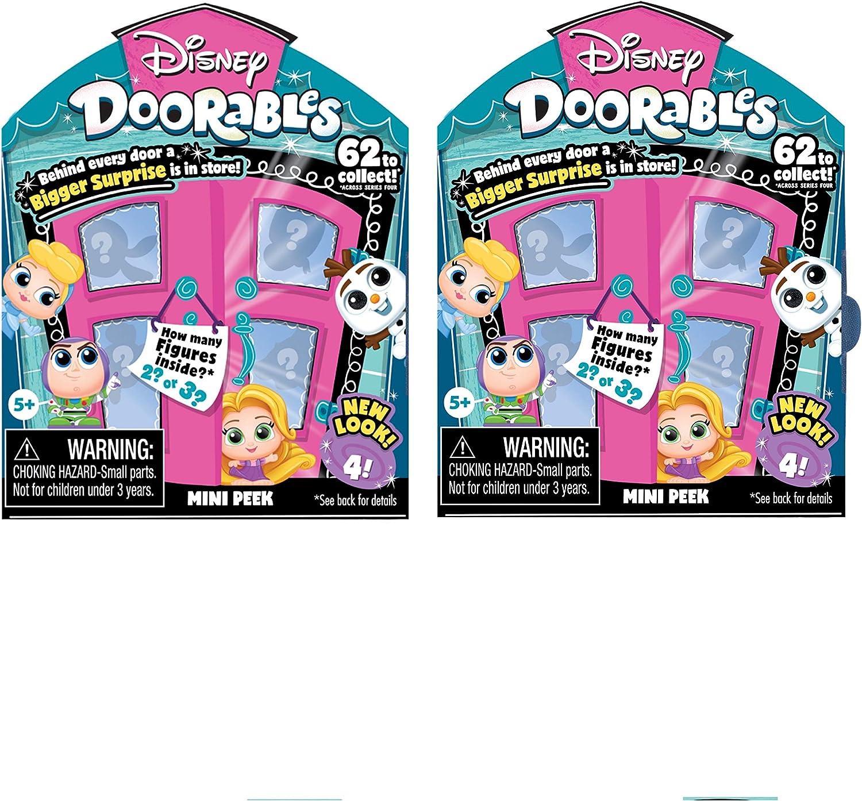 Disney Doorables Series 4 HULA STITCH Mini Figure Mint OOP