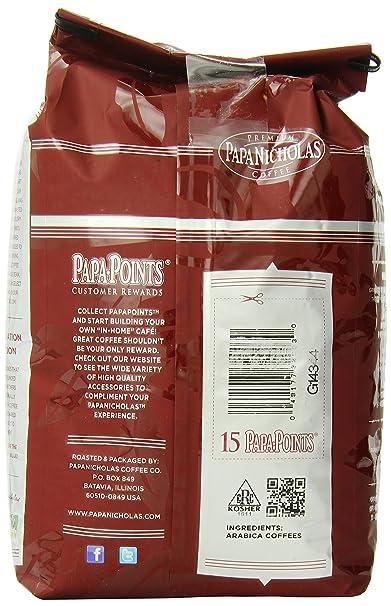 PapaNicholas Coffee Whole Bean Coffee, Hawaiian Islands Blend, 2 Pound