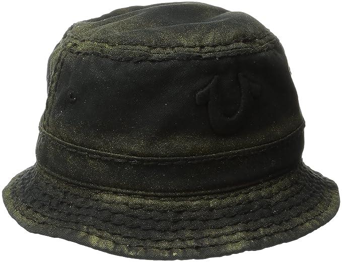 Amazon.com  True Religion Men s Metallic Paint Bucket Hat  Clothing e573efba4888