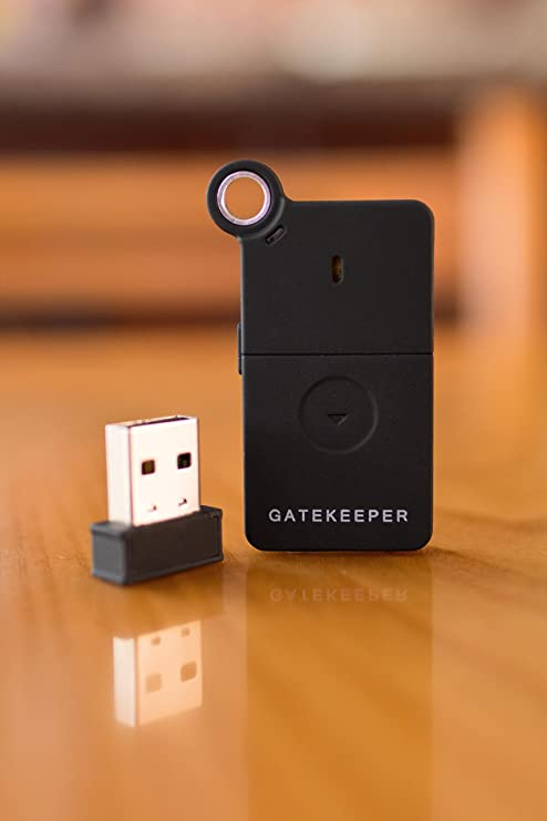 Gatekeeper 2.0 Wireless Lock Remote Key Computers Laptop by Untethered Labs New