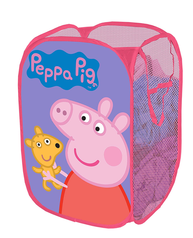 Entertainment 1 Peppa Pig Pop Up Hamper, 13.5 x 13.5 x 21.5