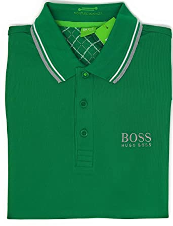 85d03fe51 Amazon.com: Hugo Boss Mens Paddy Moisture Manager Pro Edition Polo Shirt  50249000: Clothing