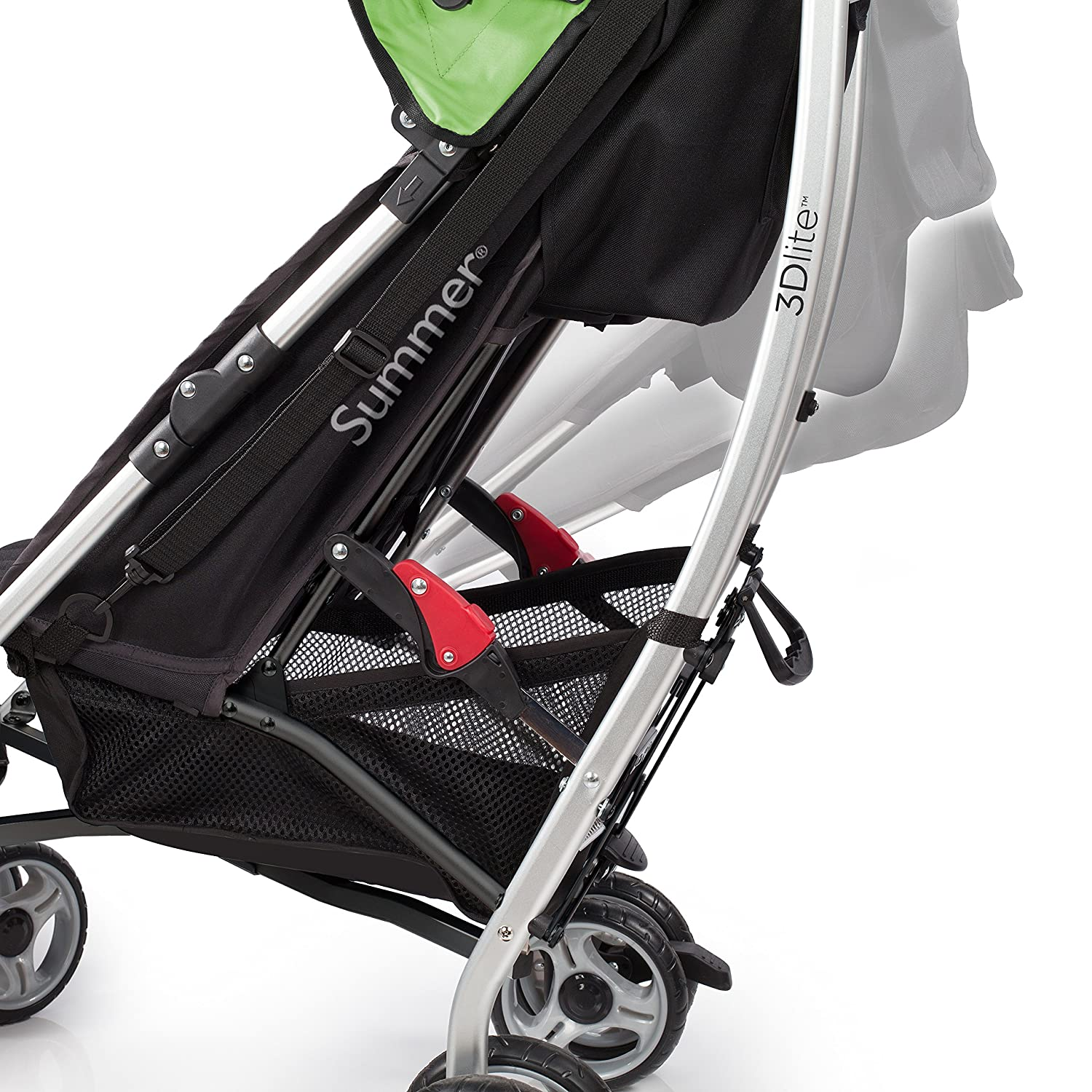 Summer Infant 3Dlite Convenience Stroller Tropical Green by Summer Infant Amazon Baby