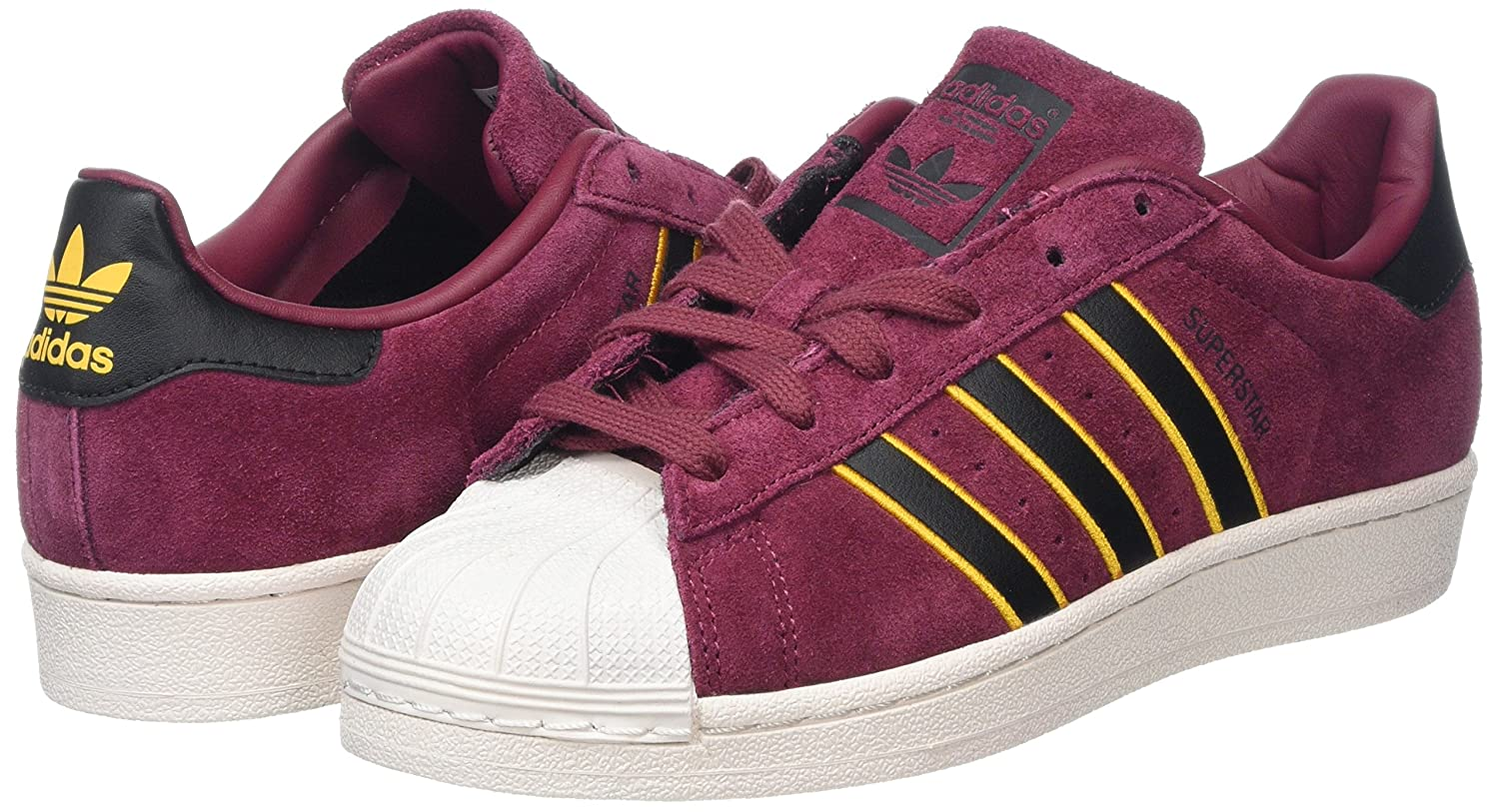 adidas superstar homme rouge