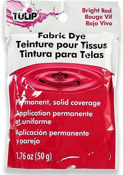 Tulip - Tinte Permanente para Telas (3 Unidades), Color Rojo ...