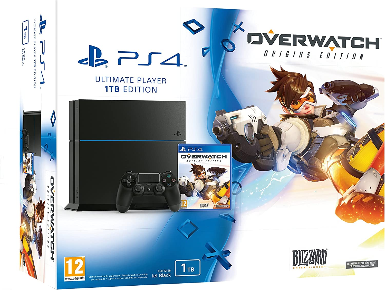 PlayStation 4 (PS4) - Consola 1 Tera + Overwatch: Amazon.es: Videojuegos