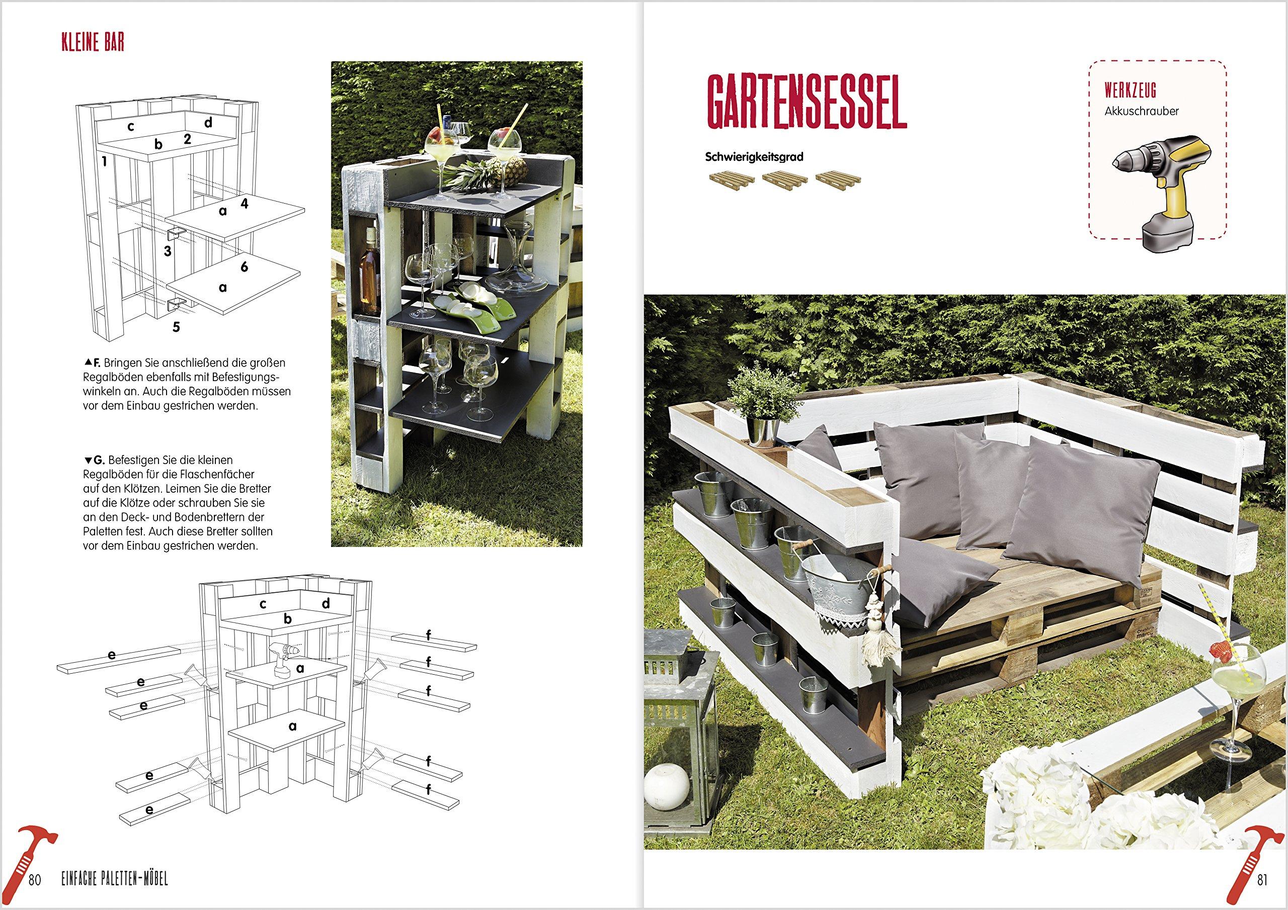 Einfache Paletten-Möbel bauen: 18 Schritt-für-Schritt-Anleitungen ...