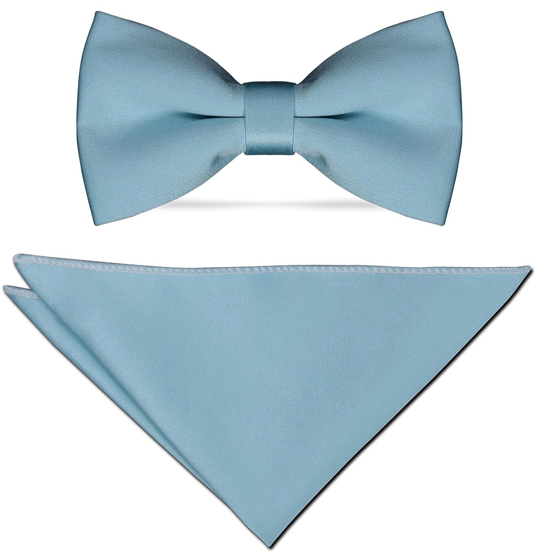 Pablo Cassini - Cravates - - Mince 5cm avec Mouchoir - 35 couleurs - Solide  Pour Mariage 3a7c5b93063