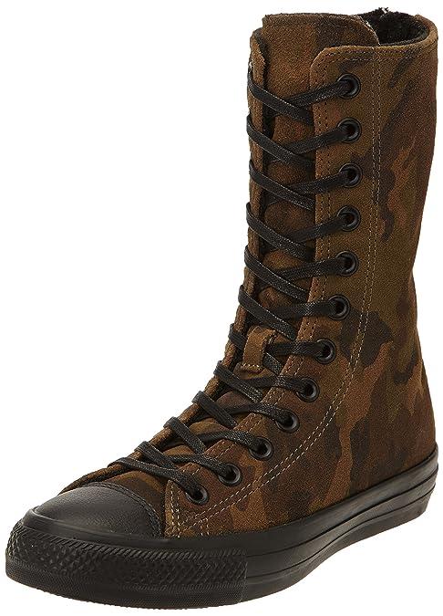 Converse Star X SneakerDonna Hi Zip Suede Print SneakerDonna X Multicolore Cm/Black 883565