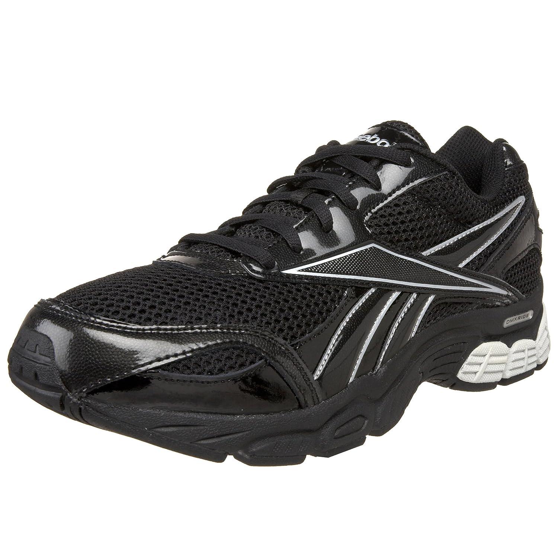 387f652a6e9fe Reebok Men's Overrun DMX Running Shoe, Black/Silver, 10 M US: Buy ...