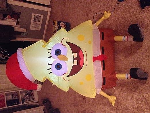 Gemmy Sponge Bobby - Esponja Hinchable para árbol de Navidad ...