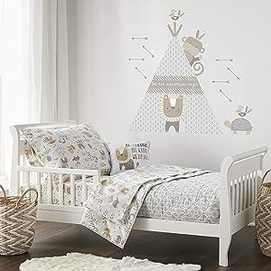 Levtex Baby Kenya 5pc Brown, Toddler Set