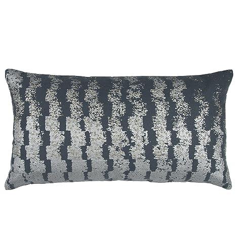 Amazon.com: Rizzy Home Doh cottondecorative geométrica ...