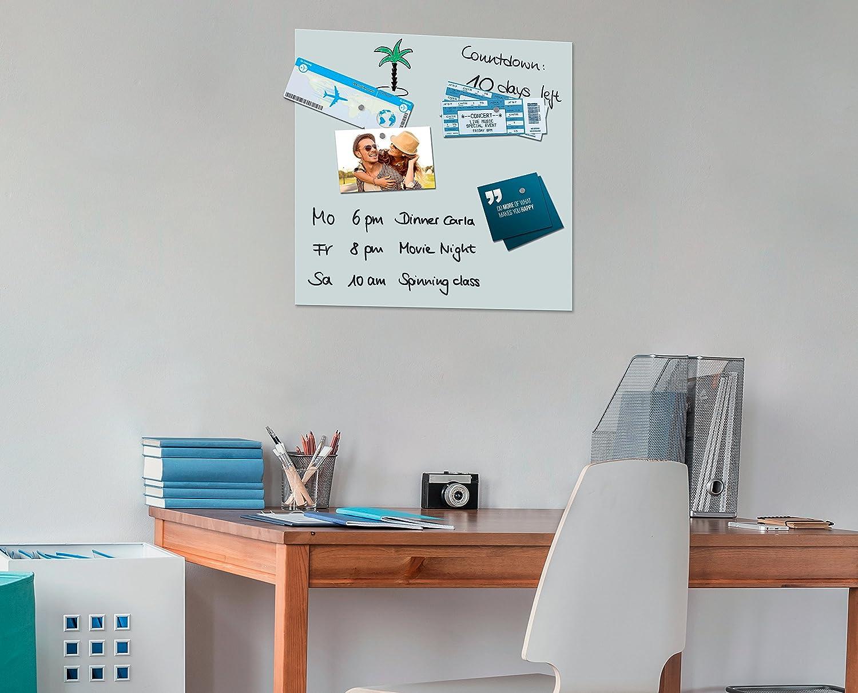 Imanes de neodimio, cubo, 1 x 1 x 1 cm, color plateado, 8 unds.: Amazon.es: Oficina y papelería