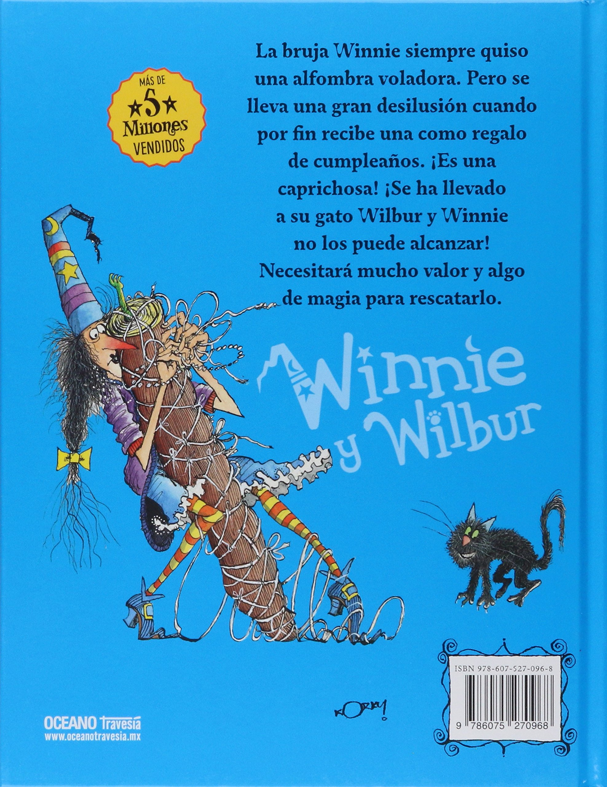 La alfombra voladora / Winnies Flying Carpet (Winnie the Witch) (Spanish Edition): Valerie Thomas, Korky Paul: 9786075270968: Amazon.com: Books