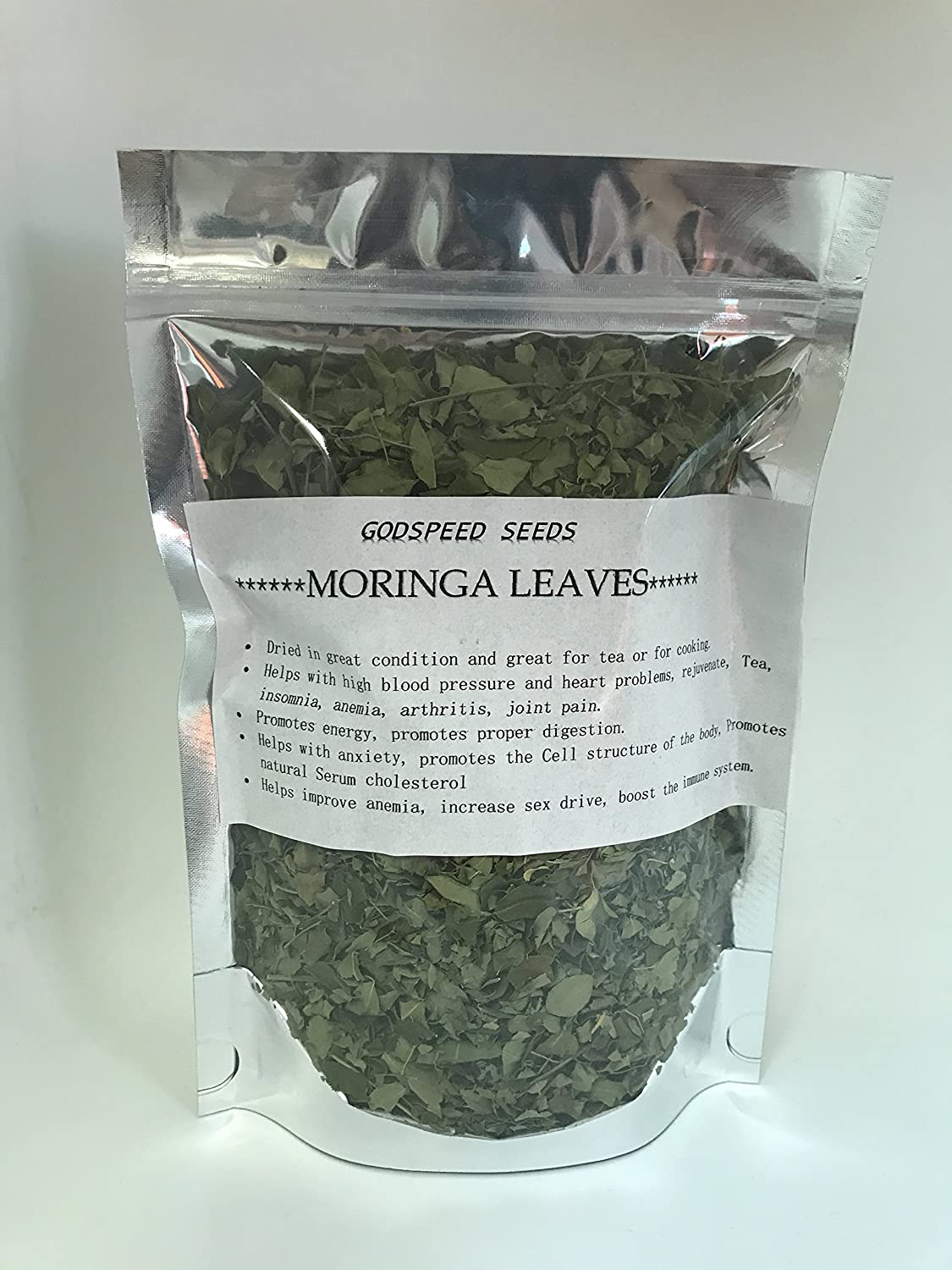 Amazon.com: Godspeed Dried Moringa Hojas ( regalo de ...