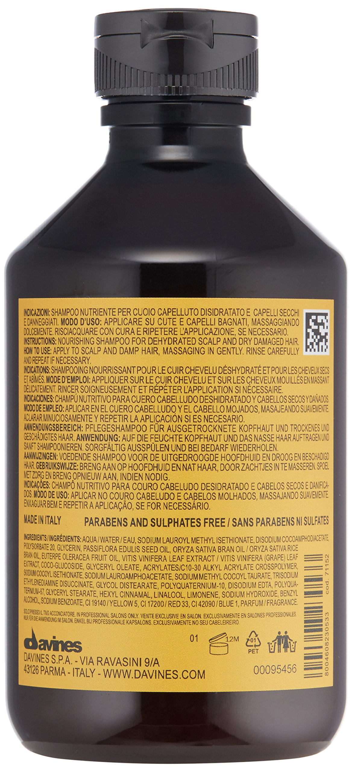 Davines - Natural Tech Shampooing nourrissant 250 ml