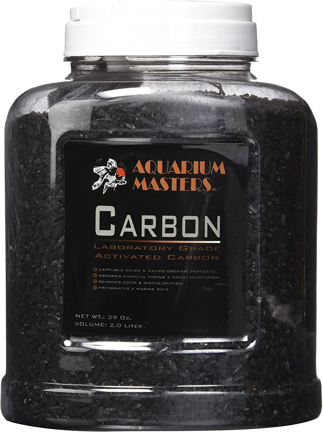 Encompass All 39 Ounce Premium Laboratory Grade Super Activated Carbon with Free Media Bag Inside - AM Brand