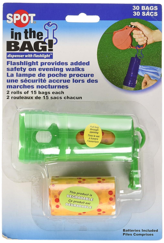 Ethical Pet in The Bag Flashlight and Poop Bag Dispenser 98419