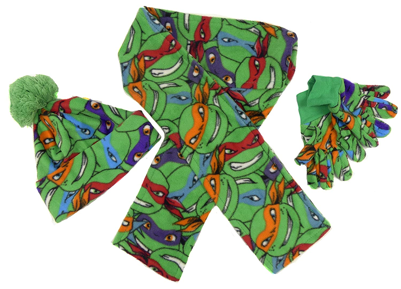 Boys Winter Beanie /& Glove Set Minions Avengers Teenage Mutant Ninja Turtles