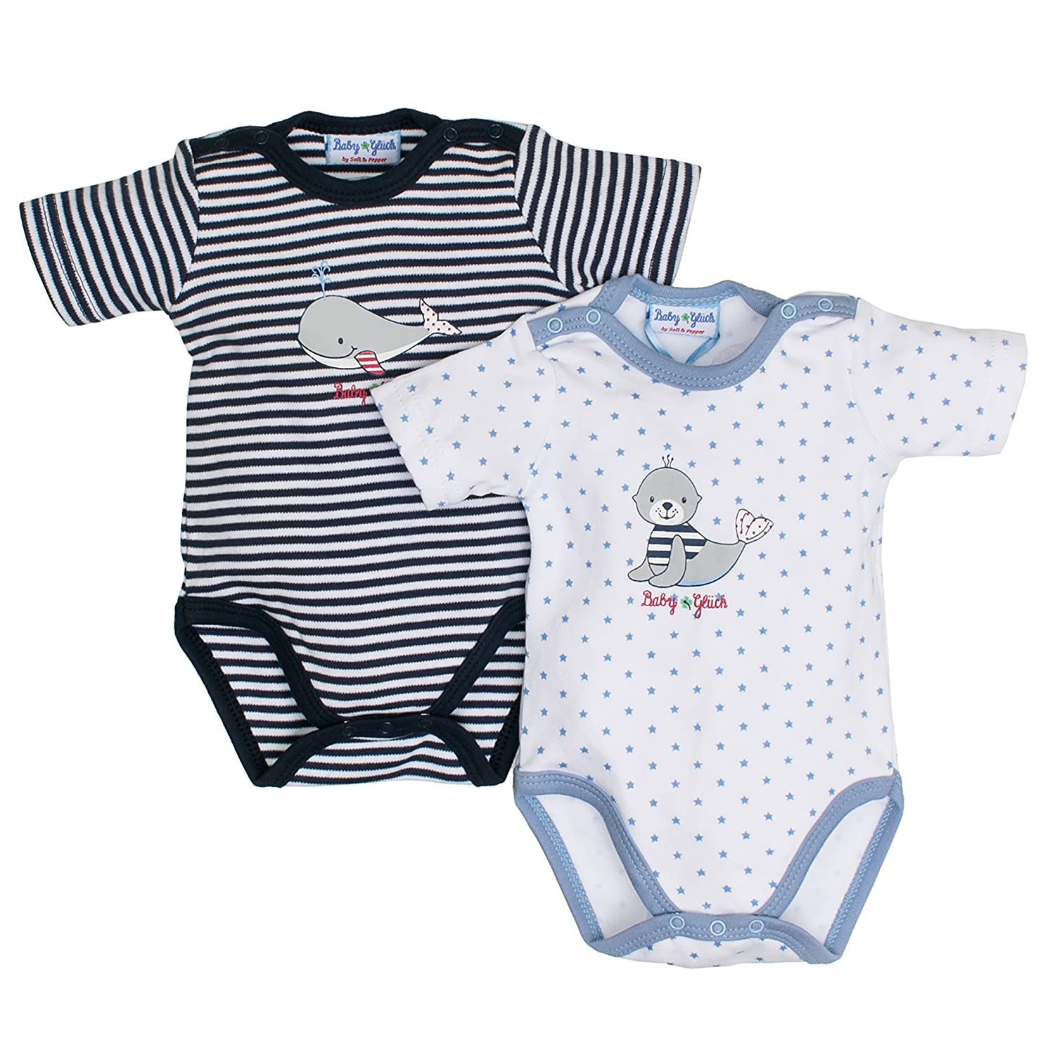 SALT AND PEPPER Baby-Jungen Body Bg Set 73830129
