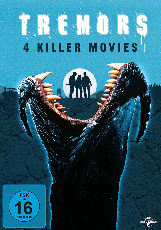 Tremors 1-4 [Alemania] [DVD]: Amazon.es: Bacon, Kevin, Ward ...