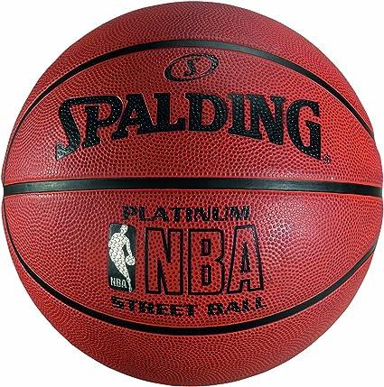 Spalding NBA Platinum Streetball Balón de Baloncesto, Unisex ...