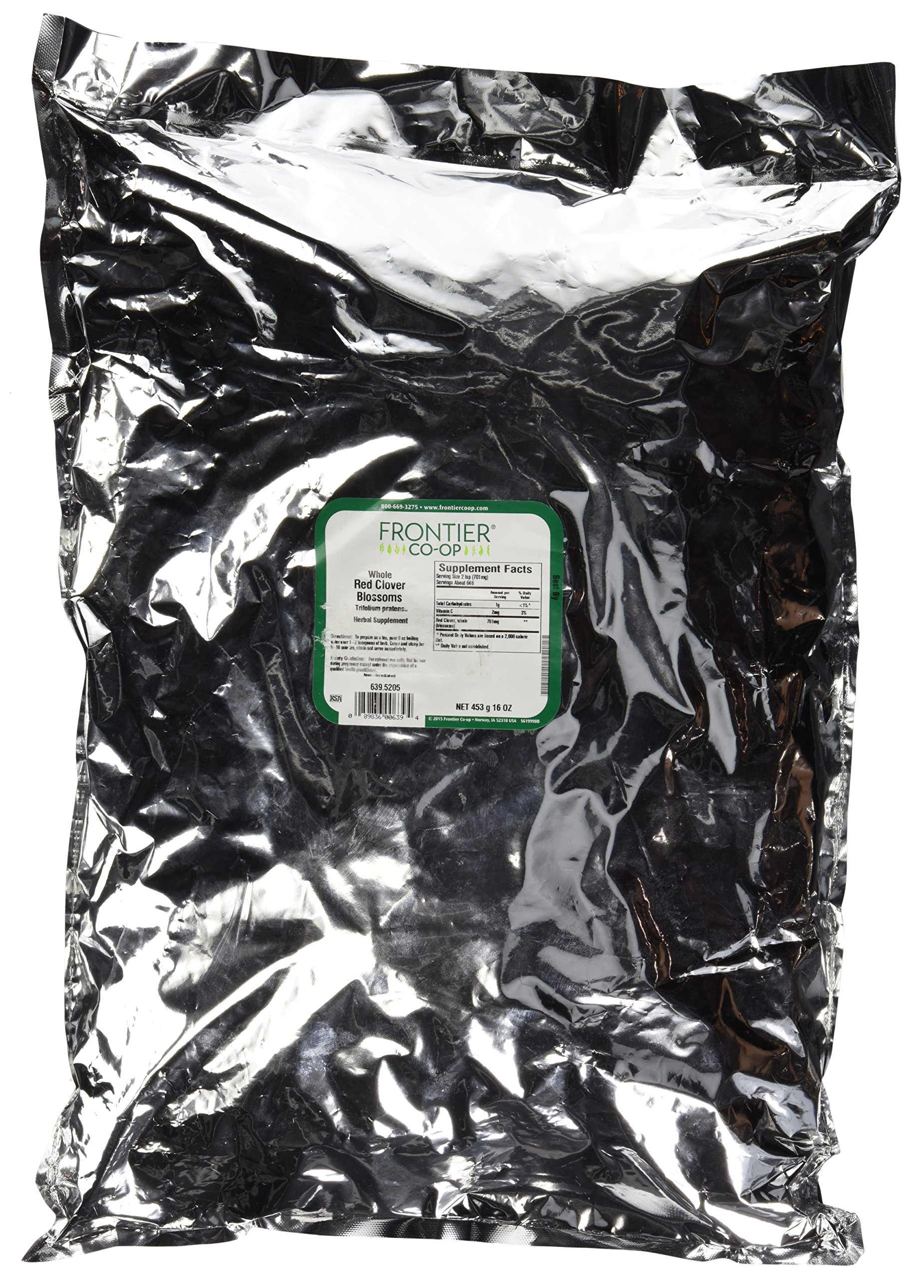 Red Clover Blossoms Frontier Natural Products 1 lbs Bulk
