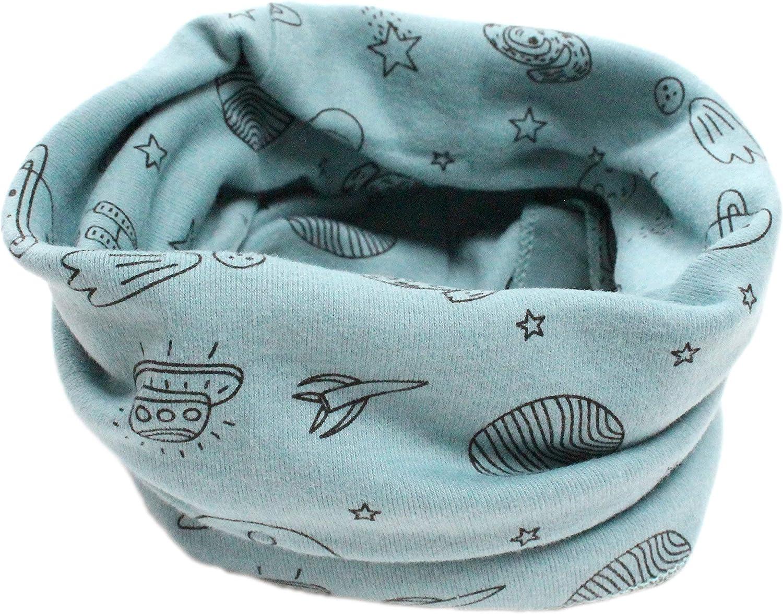 in cotone cappello multiuso: scaldacollo bandana Sciarpa unisex da bambini e bambine