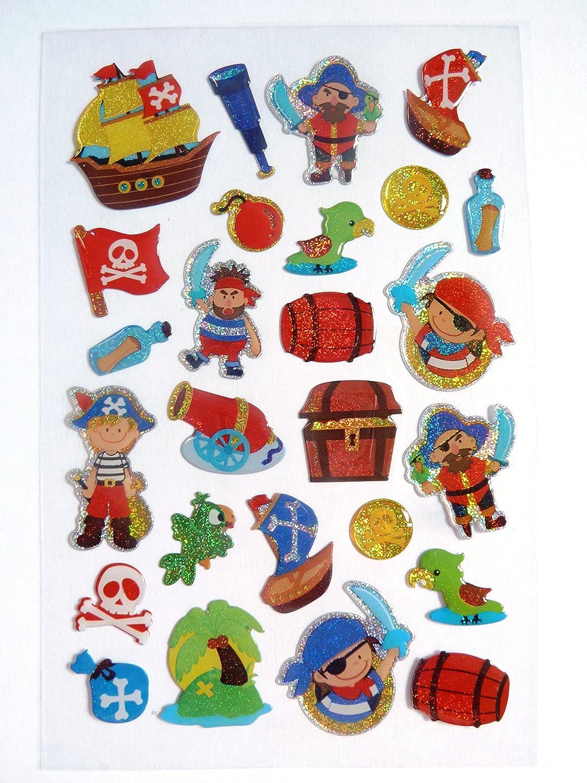 2 x Pirate Sticker Activity Books Travel Party Bag Birthday