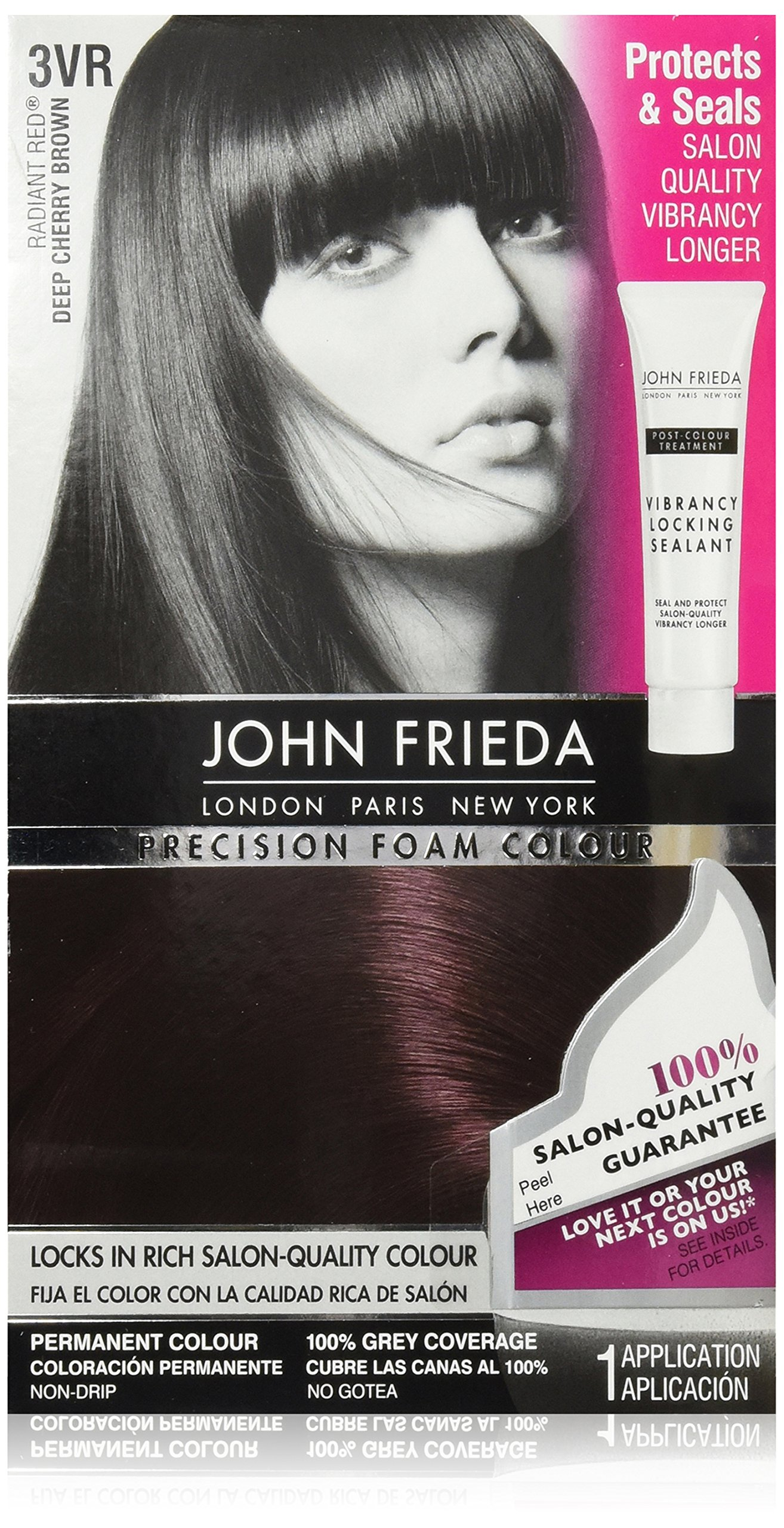 Amazon Com John Frieda Precision Foam Colour Deep Brown