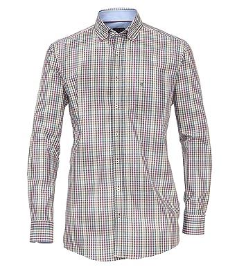 Casa Moda - Comfort Fit - Kariertes Herren Hemd mit Button-Down Kragen  (472676100