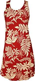 product image for Paradise Found Womens Tiare Short Tank Dress Brick RED L