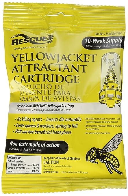 Amazon.com: Paquete de 9 cartuchos amarillos para atraer a ...