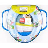 Ole Baby Mickey Mouse Padded, Soft, and Durable,Full Cushion Assorted Potty Trainer Seat With Handle