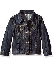 Wrangler Authentics Boys' Denim Jacket, Ocean deep 3T