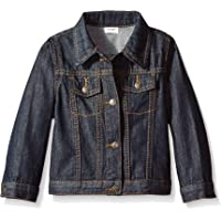 Wrangler Authentics Boys' Denim Jacket, Ocean deep 3T