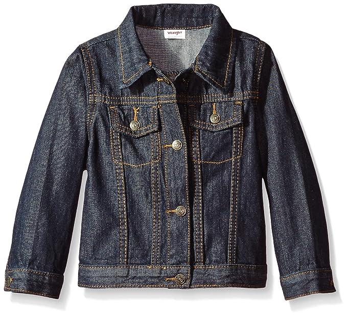 a042af76 Amazon.com: Wrangler Authentics Authentics Boys' Denim Jacket, Ocean ...