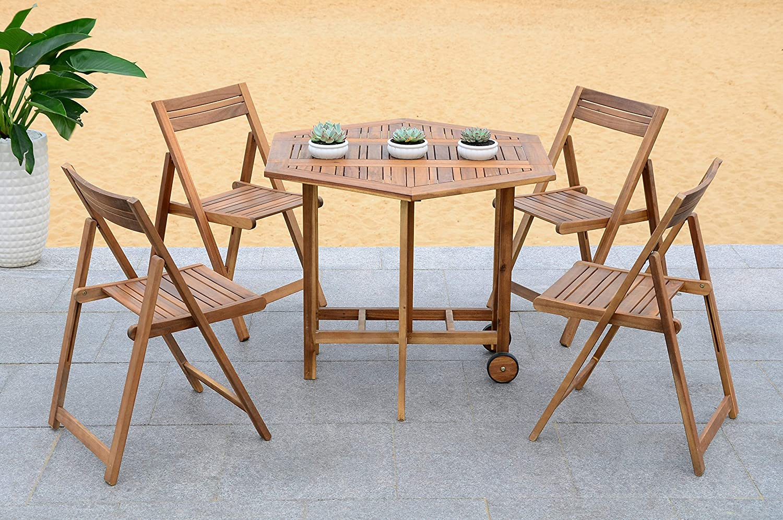 Amazon.com: Safavieh Outdoor Living Collection Kerman ...