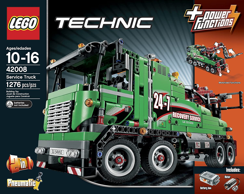 Amazon Lego Technic 42008 Service Truck Toys Games