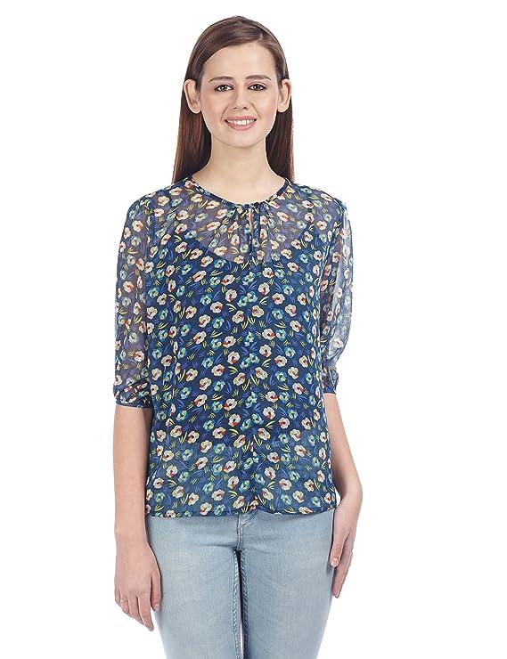 Zink London Women's Body Blouse Shirt Shirts at amazon
