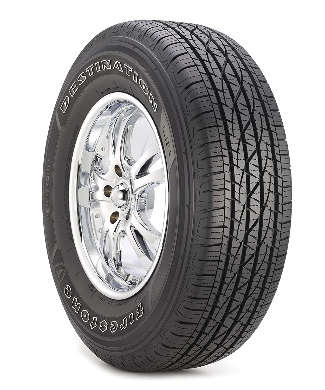 255//65R17 108T Firestone Destination LE 2 All-Season Radial Tire