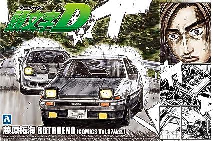 Initial D - Takumi Fujiwara 86 Trueno Specification Volume 37