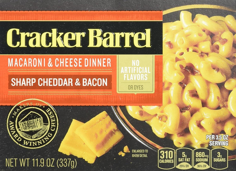 amazon com cracker barrel macaroni and cheese sharp cheddar