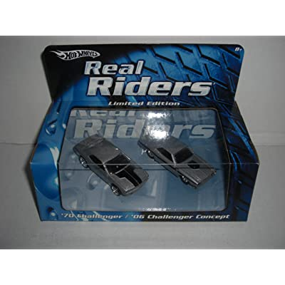 Hot Wheels Real Riders Limited Edition Set--1970 Challenger and 2006 Challenger Concept: Toys & Games